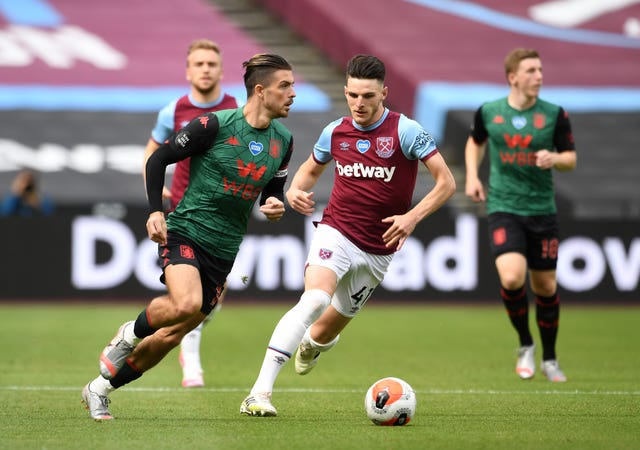 Aston Villa's Jack Grealish and West Ham United midfielder Declan Rice could have both been playing for the Republic of Ireland