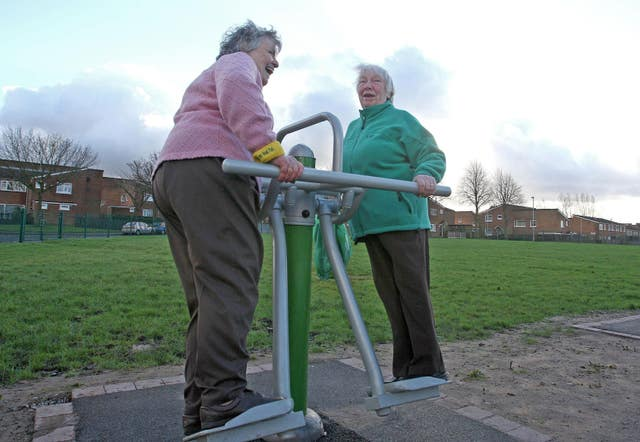 Keeping active can help (Martin Rickett/PA)