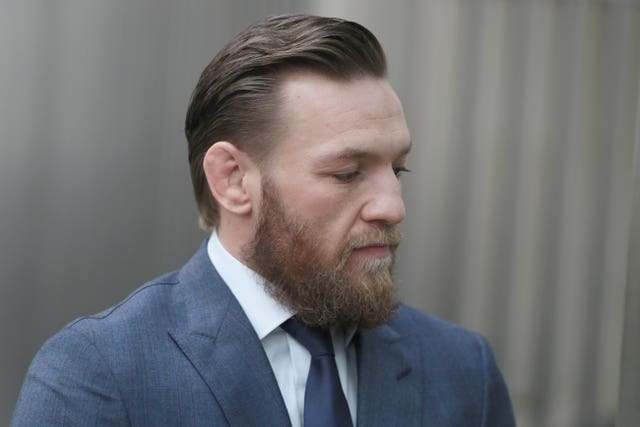 Conor McGregor court case