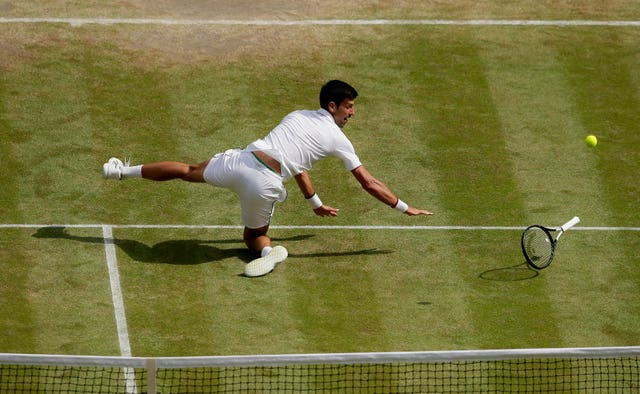Djokovic only dropped two sets en route to the final
