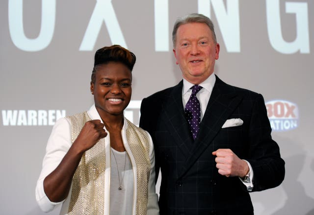 Adams signed a professional deal with promoter Frank Warren in 2017
