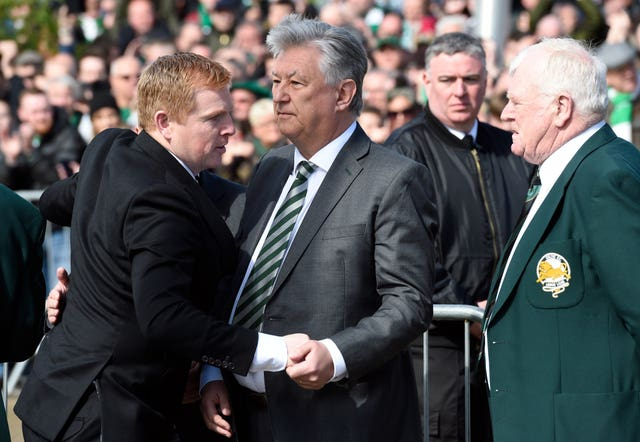 Peter Lawwell and Neil Lennon