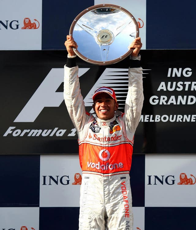 Formula One Motor Racing – Australian Grand Prix – Race – Albert Park