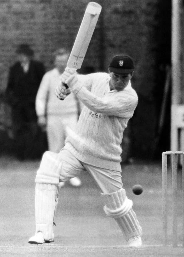 Alan Jones at the crease for Glamorgan (PA archive)