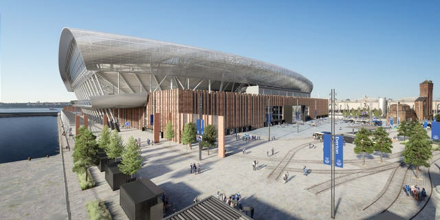 Everton secure planning permission for new stadium at Bramley-Moore Dock PLZ Soccer