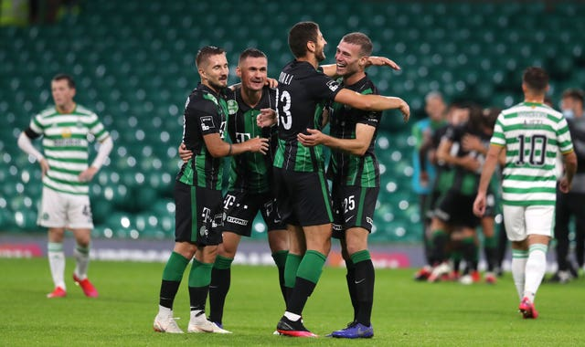 Celtic were knocked out of the Champions League qualifying rounds by Ferencvaros