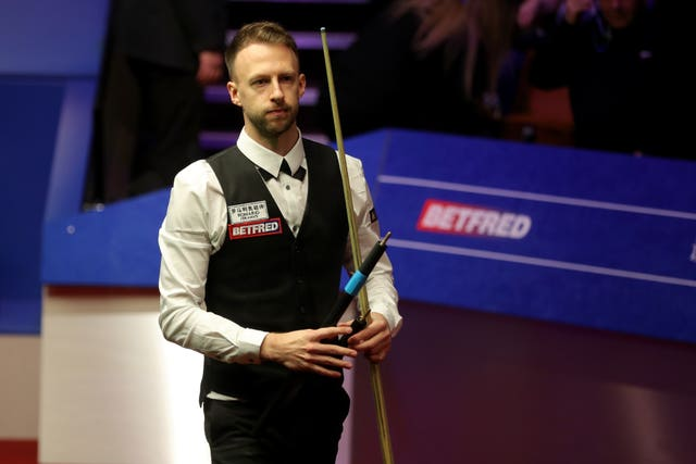 Judd Trump was among the big-name casualties on Thursday (Richard Sellers/PA)
