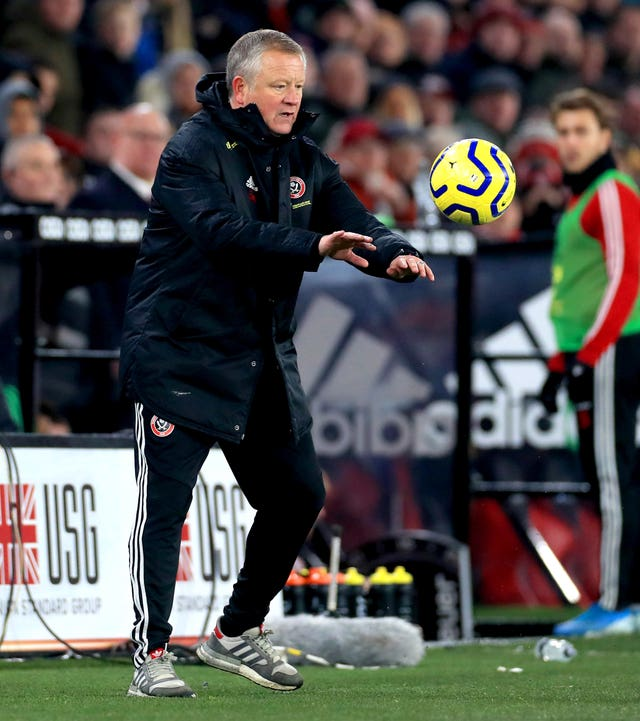 Sheffield United manager Chris Wilder was not entirely impressed with VAR