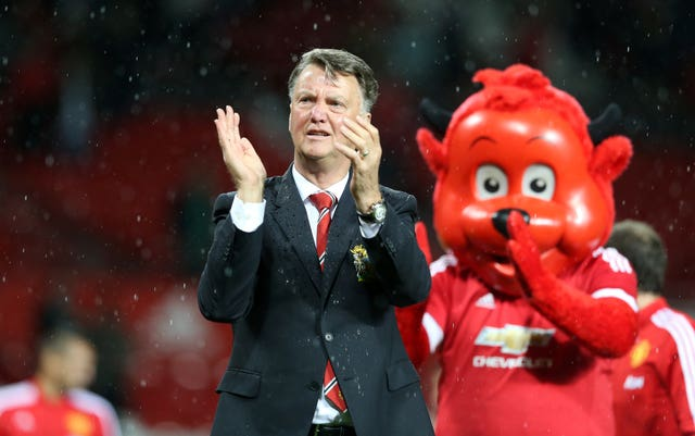Manchester United was Van Gaal's last managerial post