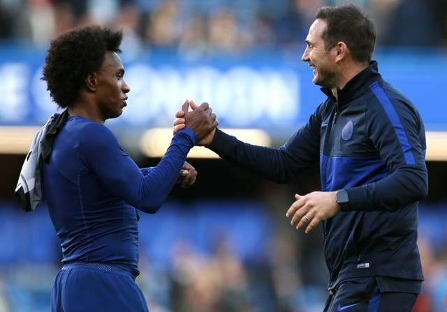 Frank Lampard had hoped to keep Willian at Chelsea