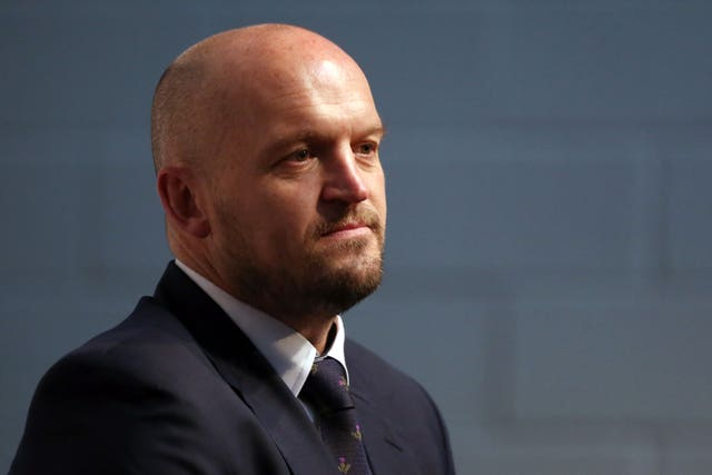Gregor Townsend is pleased with Scotland's preparation