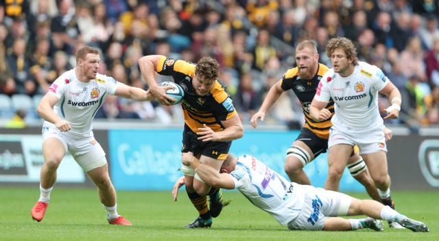 Wasps second-rower Will Rowlands is on the bench for Wales