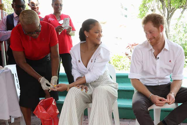Prince Harry visit to the Caribbean- Day 12