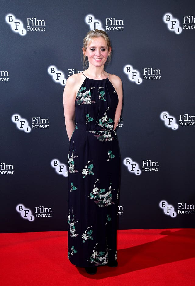 Anne-Marie Duff on the red carpet