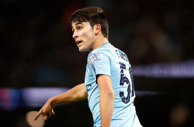 Eric Garcia is an option in defence for Manchester City