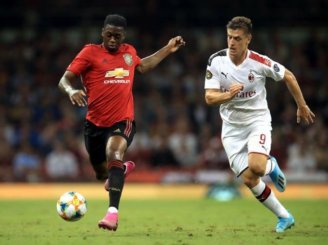 Manchester United v AC Milan – International Champions Cup – Principality Stadium