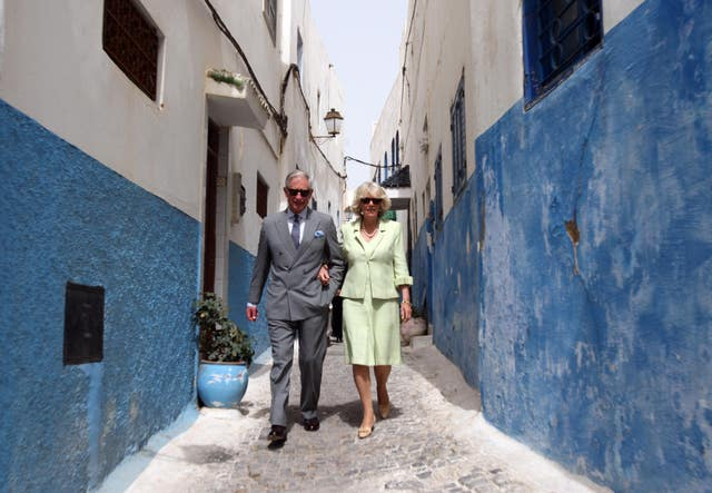 Charles and Camilla in Morocco