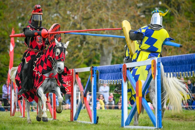 Sudeley Castle annual jousting event
