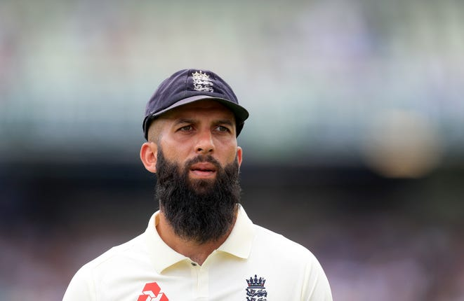 Moeen Ali struggled to make inroads against Smith at Edgbaston