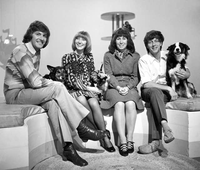 Television Programmes – Blue Peter presenters 1972
