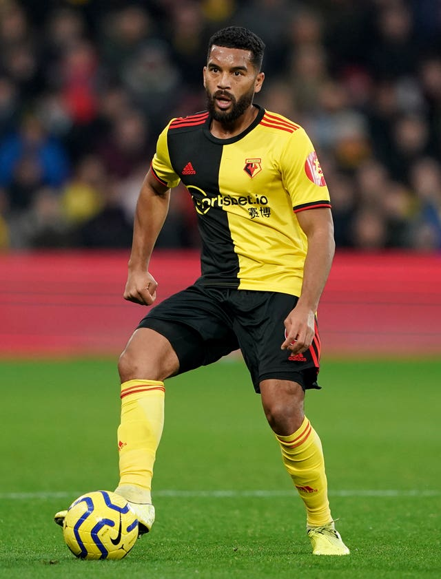Watford's Adrian Mariappa was found to be positive for coronavirus in the first round of testing