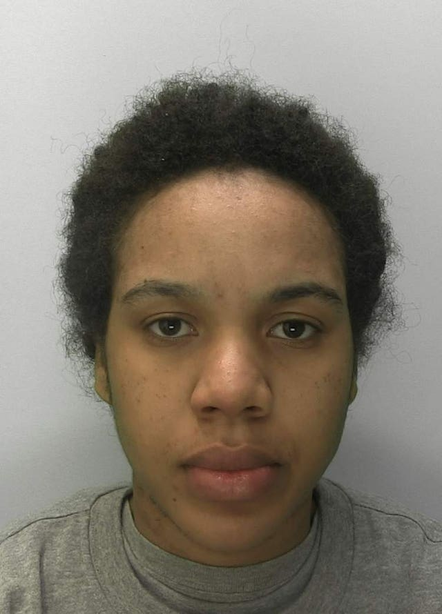 Gareeca Gordon was jailed for life for murdering her friend Phoenix Netts (Gloucestershire Police/PA)