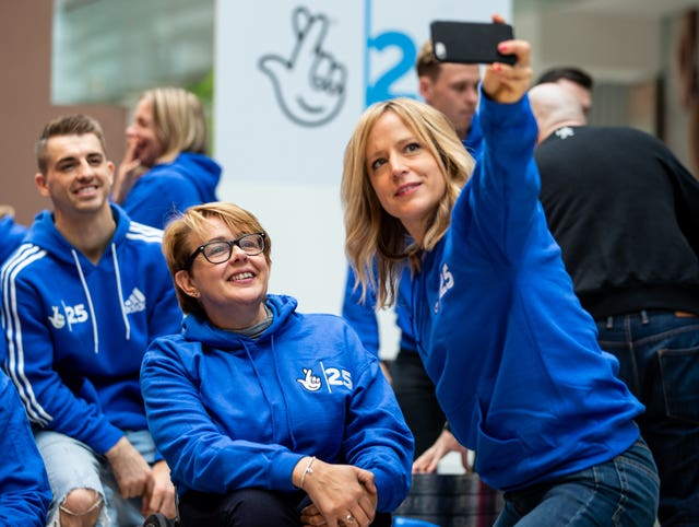 National Lottery Olympic Photocall – Westfield Stratford City