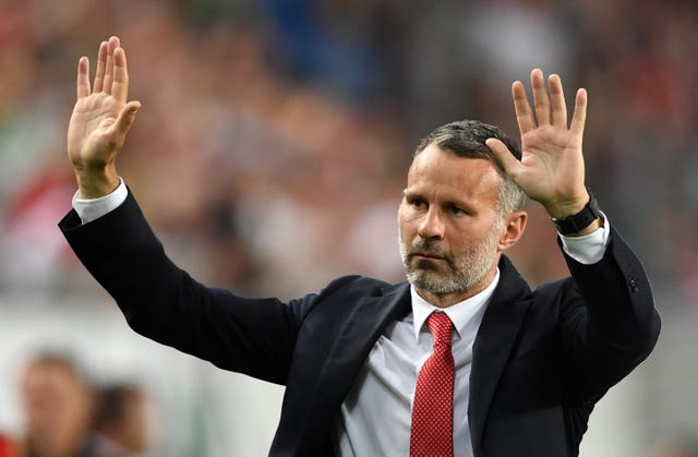 Wales manager Ryan Giggs made five changes for the match in Budapest