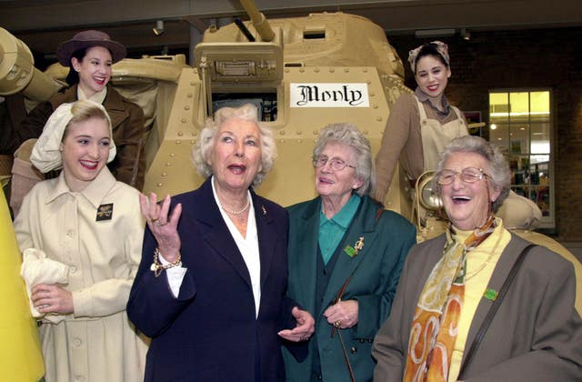 DAME VERA LYNN AT 90 Imperial War Museum Exhibition