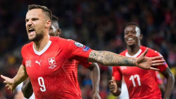 Republic face uphill battle after Switzerland sink them in Euro qualifier