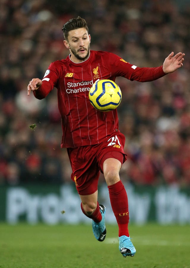 Adam Lallana has claimed Liverpool are addicted to winning