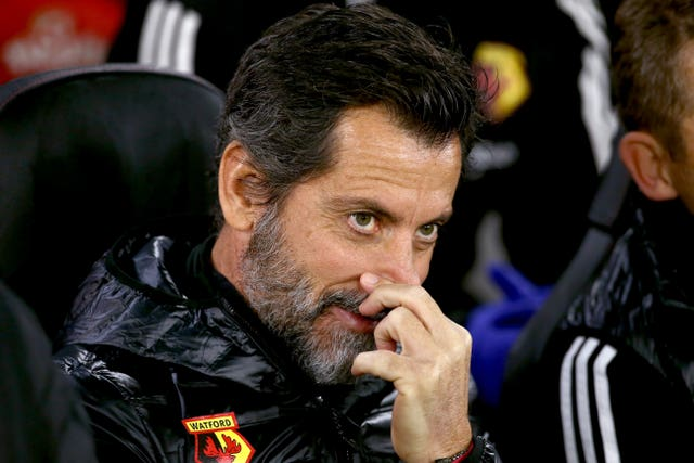 Quique Sanchez Flores was sacked after Watford's defeat at Southampton