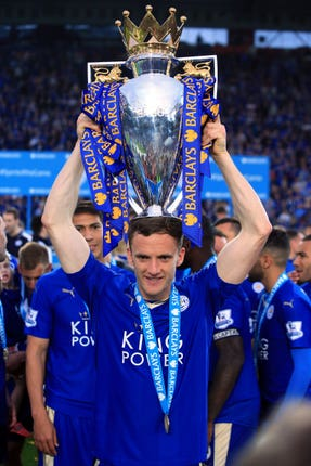 Andy King won the Premier League title with Leicester in 2016