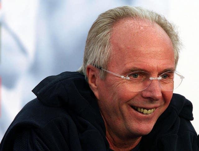 Sven Goran Erikssonspoke to Freddie Ljungberg his England tenure