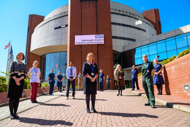 NHS staff recruited to run the new NHS Nightingale Hospital Yorkshire and Humber in Harrogate