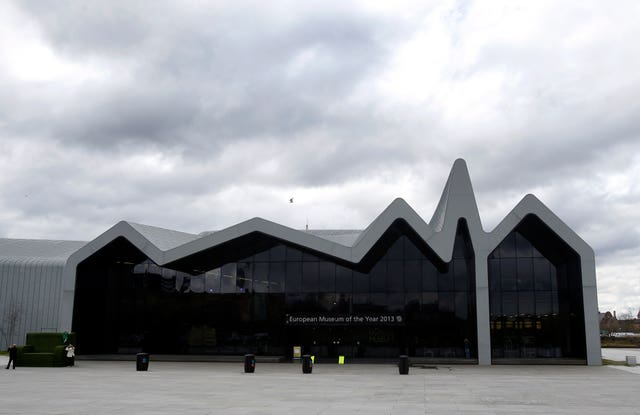 The Riverside Museum in Glasgow (Danny Lawson/PA)