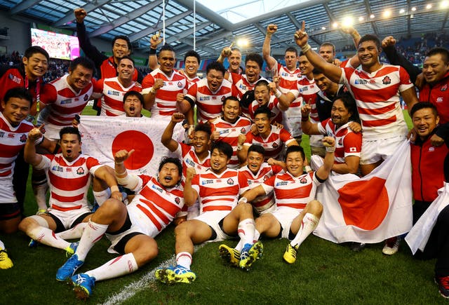 Japan stunned South Africa at the 2011 World Cup