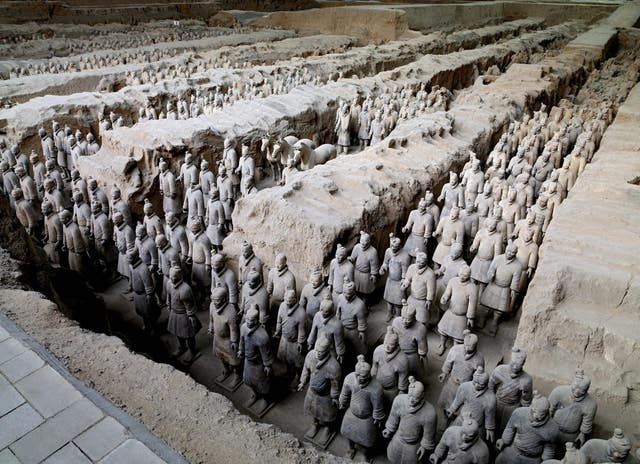Terracotta Warriors come to the UK