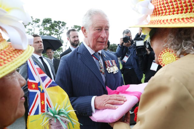 Royal visit to New Zealand – Day Two