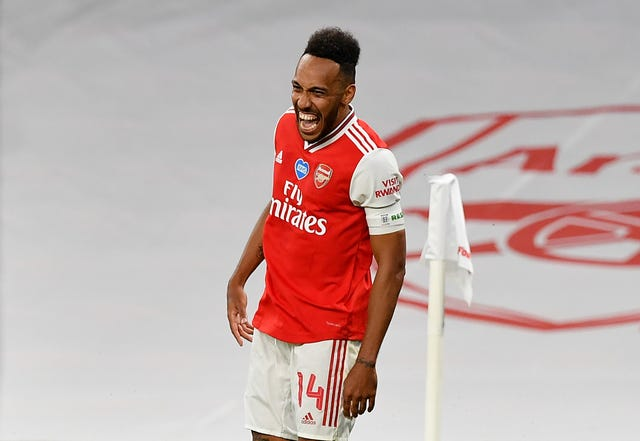 Pierre-Emerick Aubameyang current Arsenal contract expires next year.
