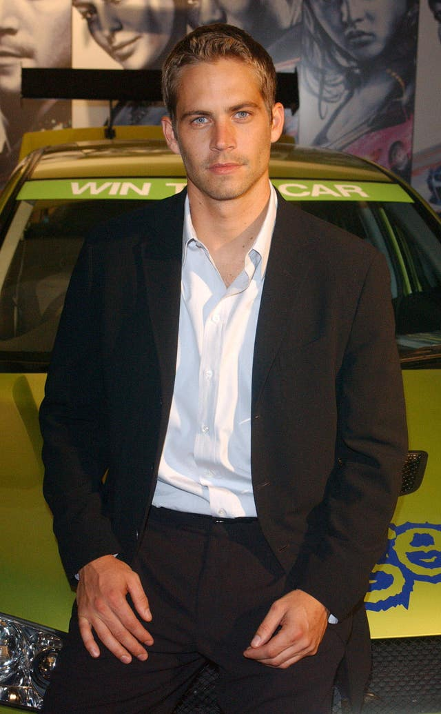 Paul Walker 2 Fast 2 Furious party