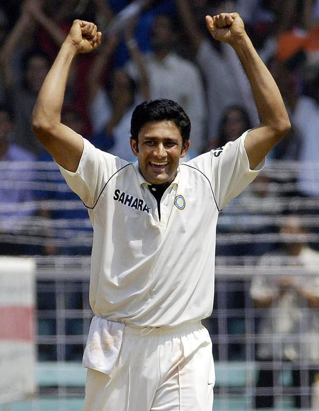 Anil Kumble retired from Test cricket in November 2008 during a series between India and Australia