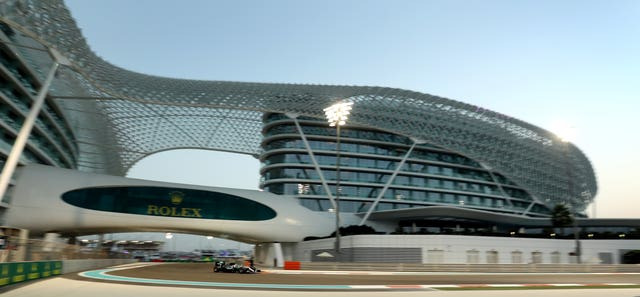 The Yas Marina Circuit in Abu Dhabi will stage the season-ending race