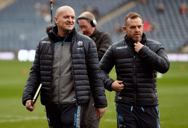Danny Wilson, right, will take over from Dave Rennie at Glasgow