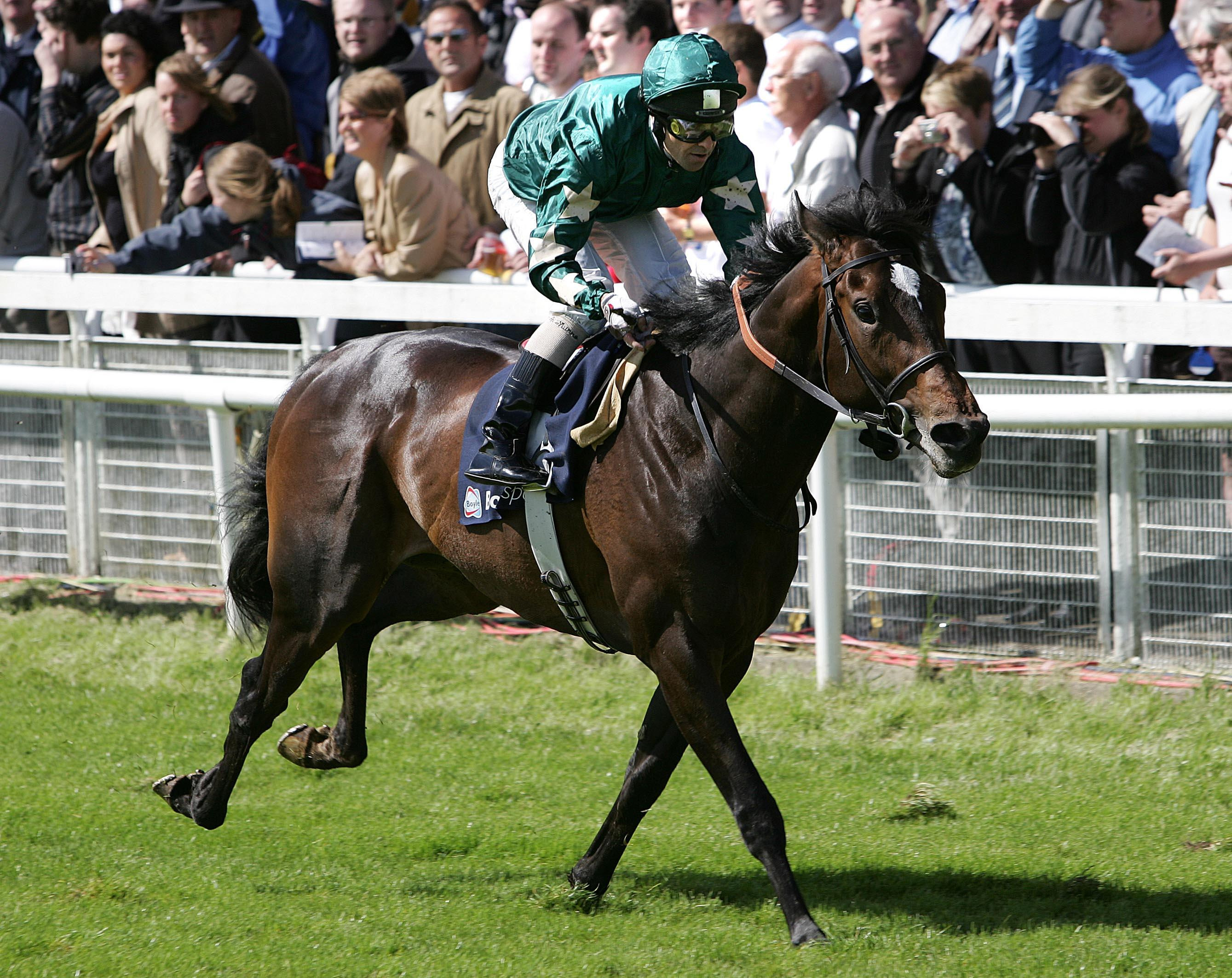 Araafa was a very impressive winner of the Irish 2,000 Guineas