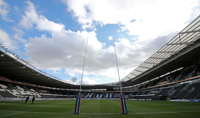 The Grand Final will take place at Hull's KCOM Stadium