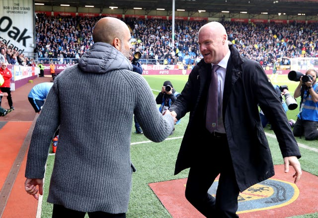 Sean Dyche has been delighted with Burnley's form since New Year