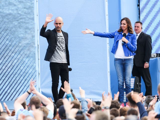 Guardiola took over at City in the summer of 2016