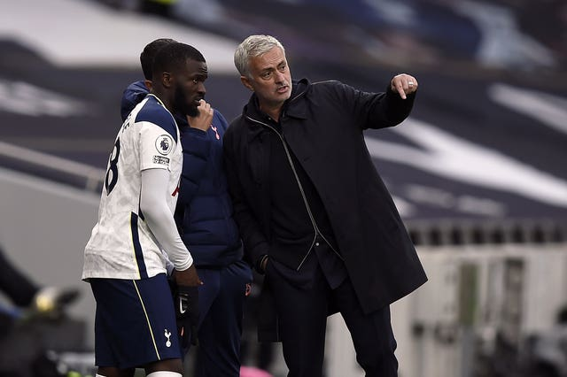 Jose Mourinho has criticised Tanguy Ndombele