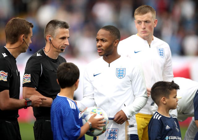 Raheem Sterling captained England